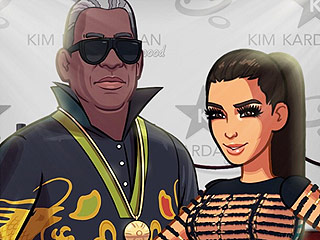 "Kim Kardashian Adds a Non-Family Member to Her Mobile Game (Plus, ""The Dress"" Lands in Her Virtual Closet)"