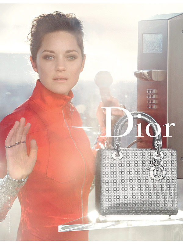 marion cotillard for Dior 2015