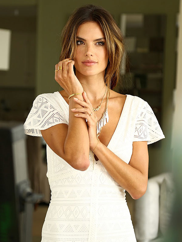 Alessandra Ambrosio for BaubleBar photo