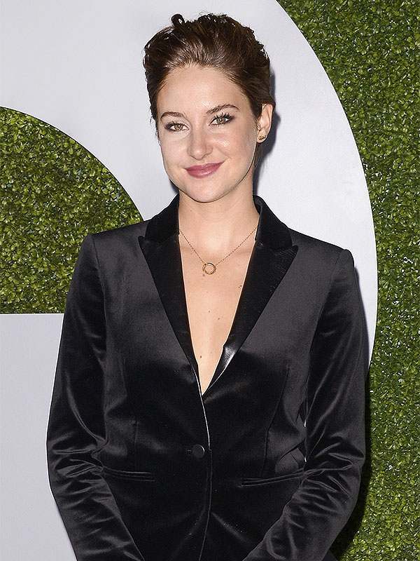 Shailene Woodley attends the 2014 GQ Men of the Ye
