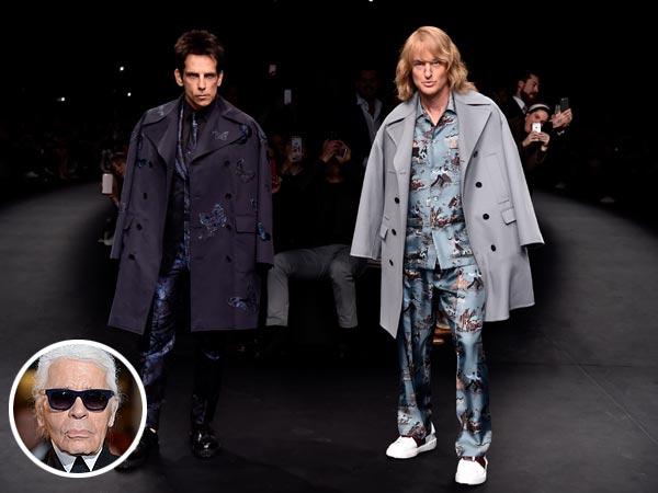 Karl Lagerfeld Zoolander