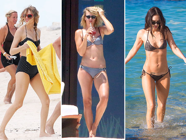 Taylor Swift, Maria Sharapova, Megan Fox