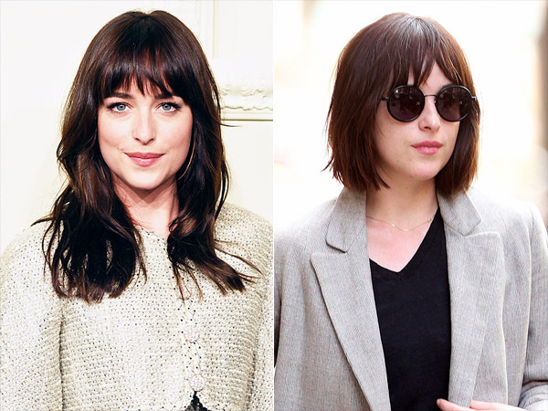 dakota johnson haircut