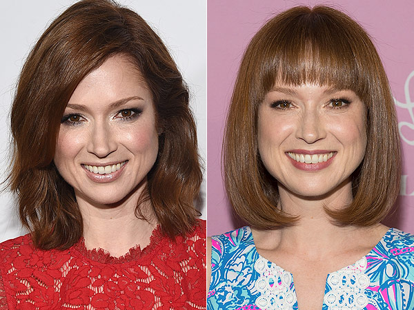 Ellie Kemper Gets New Bangs
