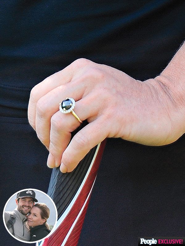 Jennie Garth engagement ring