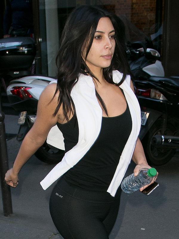 Kim Kardashian without makeup
