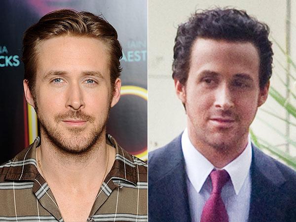 Ryan Gosling dark hair
