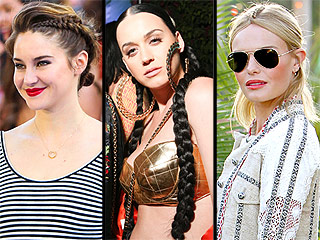 Three Braids From This Weekend (Shai! Katy! Kate!) That You Truly Cannot Miss | Kate Bosworth, Katy Perry, Shailene Woodley