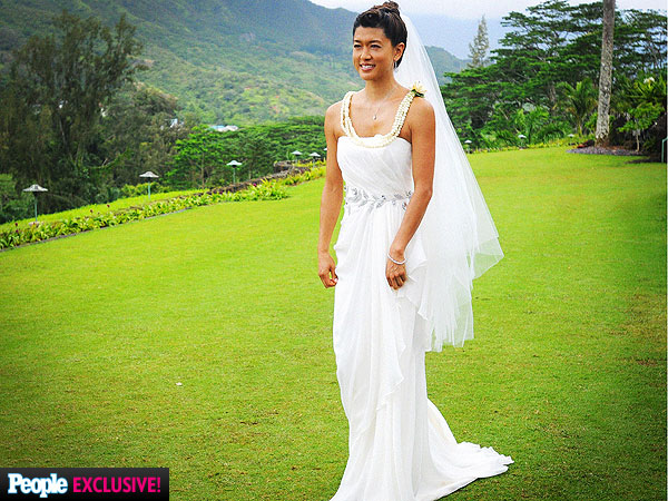 Hawaii Five-O wedding episode photos