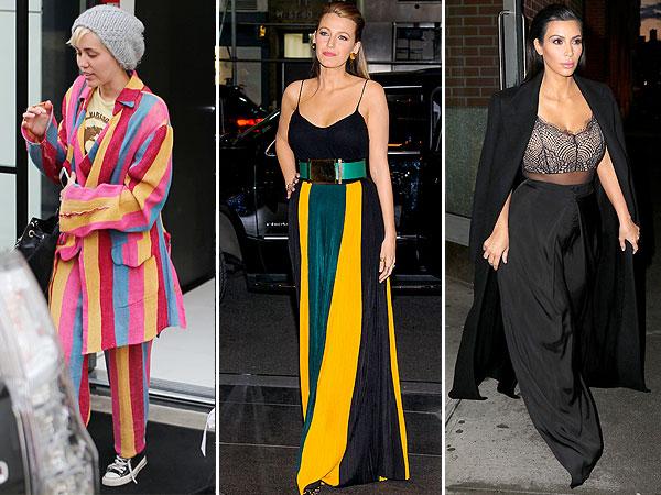Miley Cyrus, Blake Lively, Kim Kardashian