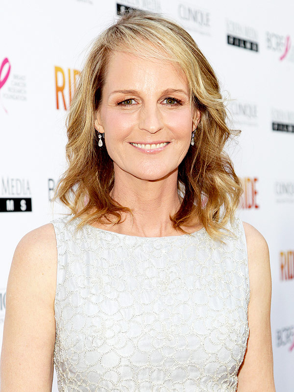 Helen Hunt attends the Los Angeles premiere of Ride