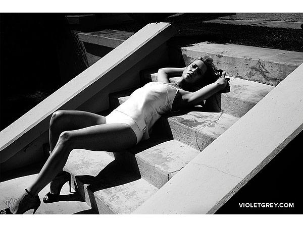 Kristen Wiig for VioletGrey.com