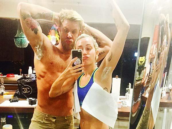 Miley Cyrus underarm
