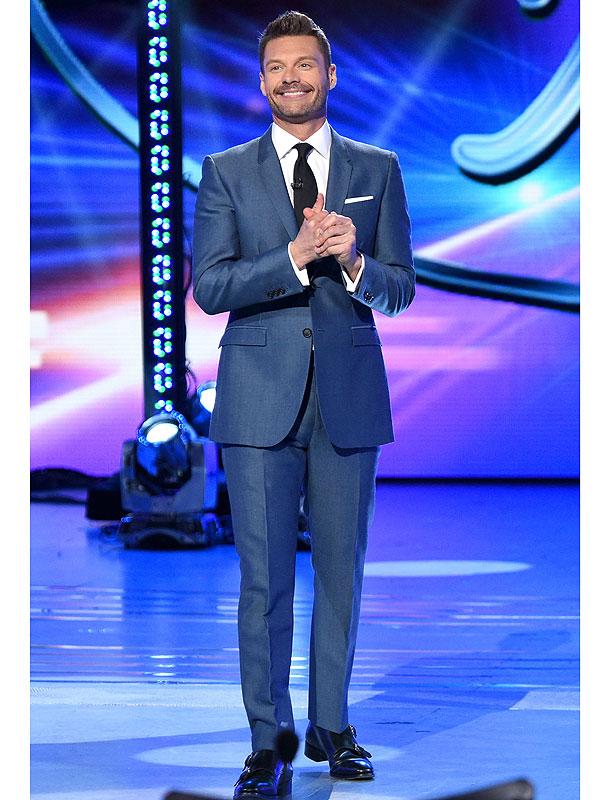Host Ryan Seacrest