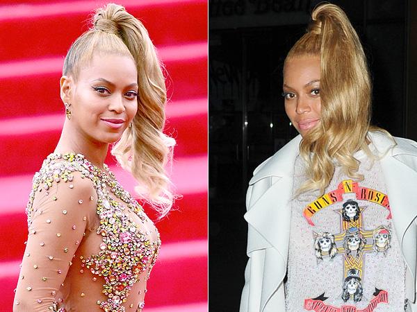 Beyonce Met Gala Ponytail