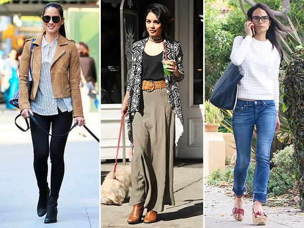 Affordable celeb looks Olivia Munn; Vanessa Hudgens; Jordana Brewster