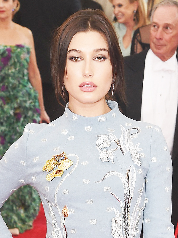 Met Gala 2015 Hailey Baldwin Hair Change