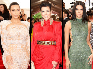 The Met Gala Was a Kardashian/Jenner Family Affair (Is a Mother/Daughter Vogue Cover That Far Off?)