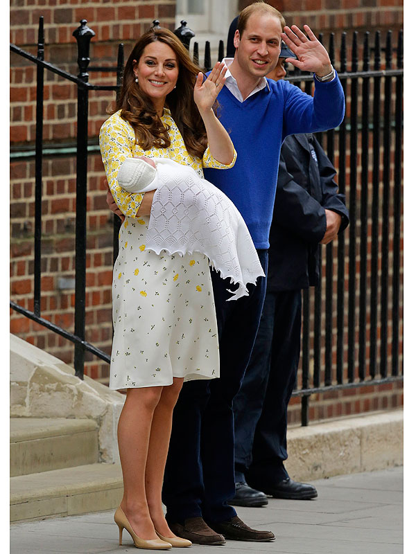 Kate Middleton reveals baby girl