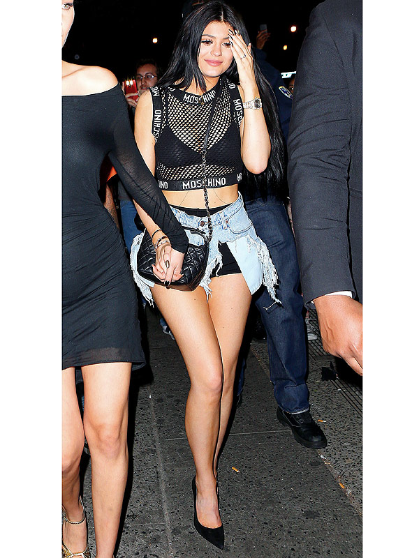Met Gala 2015: Kylie Jenner afterparty outfit