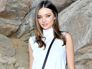 Miranda Kerr Looks a Little Naked While Chowing Down on French Fries (PHOTO)