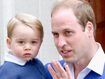 Prince William and Prince George's Matching Father-Son Outfit Moment Will Make Your Heart Happy