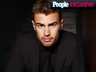 Theo James's New Gig Will Make You Wish Magazines Were Scratch-n'-Sniff