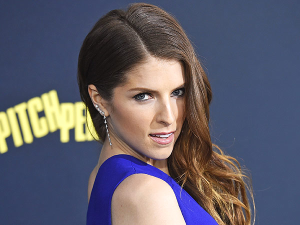 Actress Anna Kendrick arrives at the World Premiere of Pitch Perfect 2
