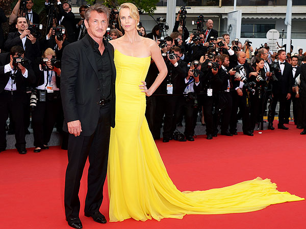 Sean Penn and Charlize Theron Cannes