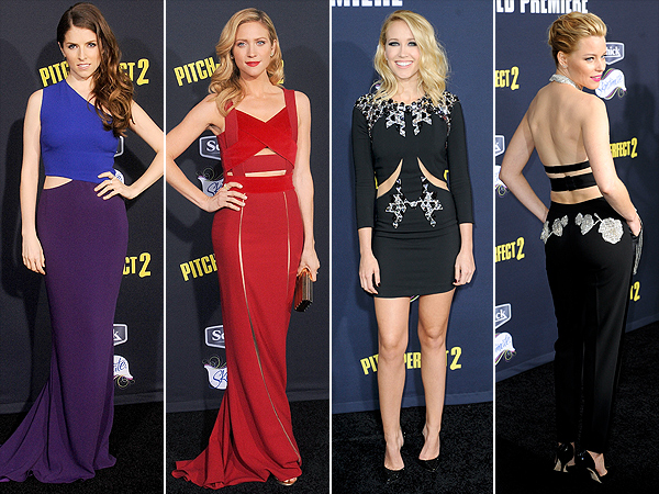 Pitch Perfect 2 premiere actresses