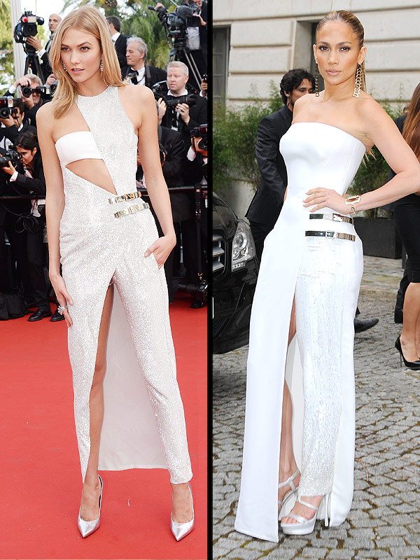 Karlie Kloss Cannes, Jennifer Lopez faceoff