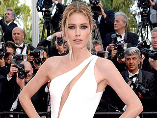 Hot Mama! Model Doutzen Kroes Shows Off Super-Sexy Bikini Body in Cannes (PHOTOS)