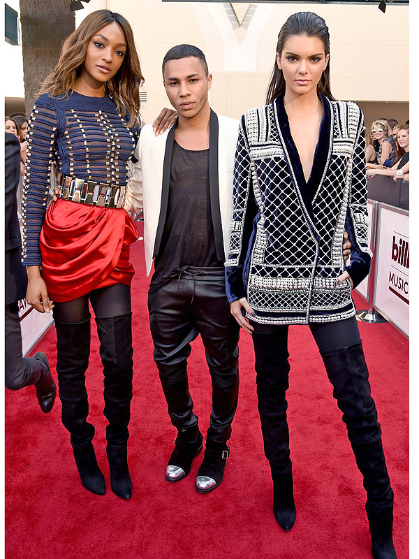 Kendall Jenner and Jourdan Dunn announce Balmain x H&M collab