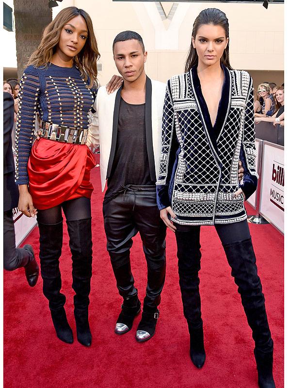 Kendall Jenner and Jourdan Dunn announce Balmain x H&M collab