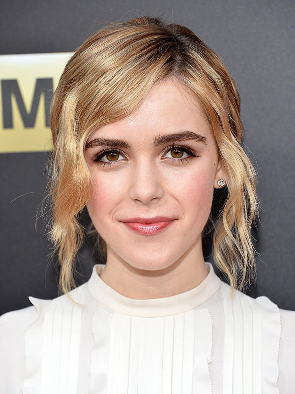 Kiernan Shipka arrives at the Film Independent at