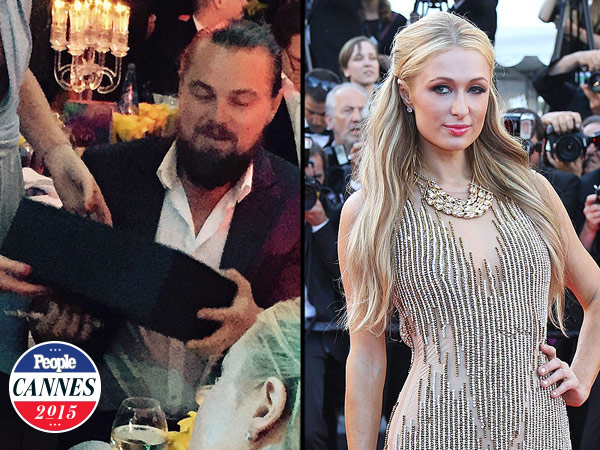Cannes 2015: Leonardo DiCaprio, Paris Hilton Bid on Chanel Bag at Charity Gala
