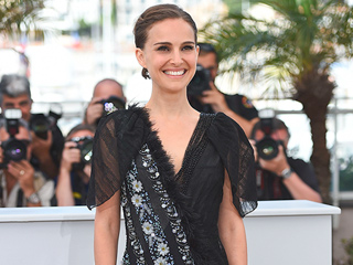 Natalie Portman Cheekily Shows Off Her Underwear in Daring Dress at Cannes