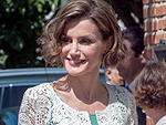 Queen Letizia of Spain Breaks Royal Dressing Boundaries, Wears Lucite Heels!