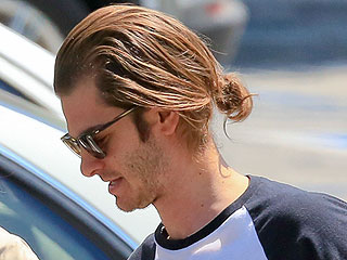 The Man Bun Club Would Like to Formally Initiate Andrew Garfield (Warning: Hair Jealous May Ensue)