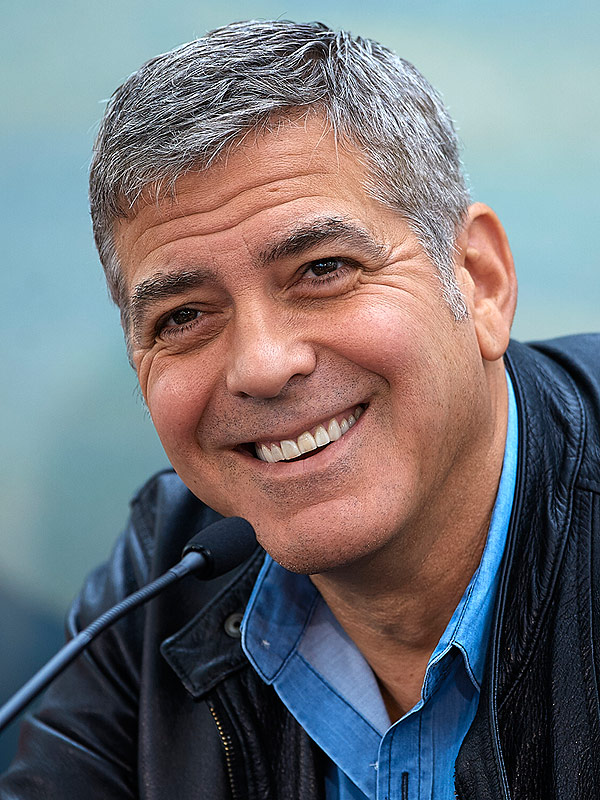George Clooney Loves Lunch as Much as You Do - Great Ideas : People ...