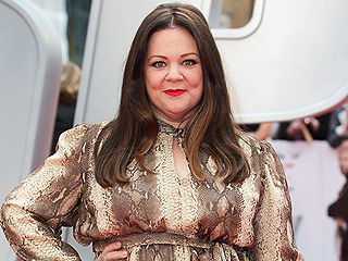 Melissa McCarthy Is on a Prints Parade, See Her Bold Snakeskin-Inspired Gown