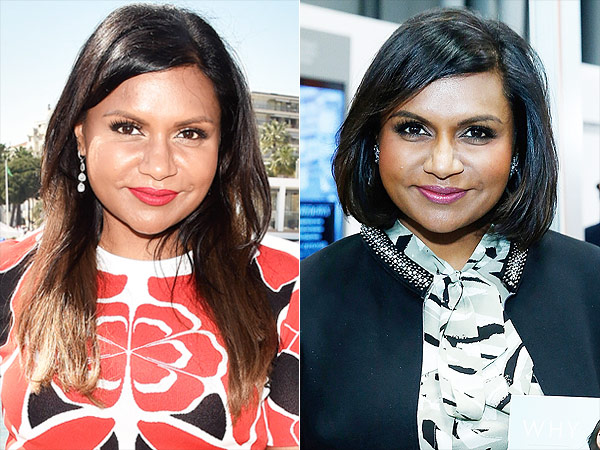Mindy Kaling bob haircut