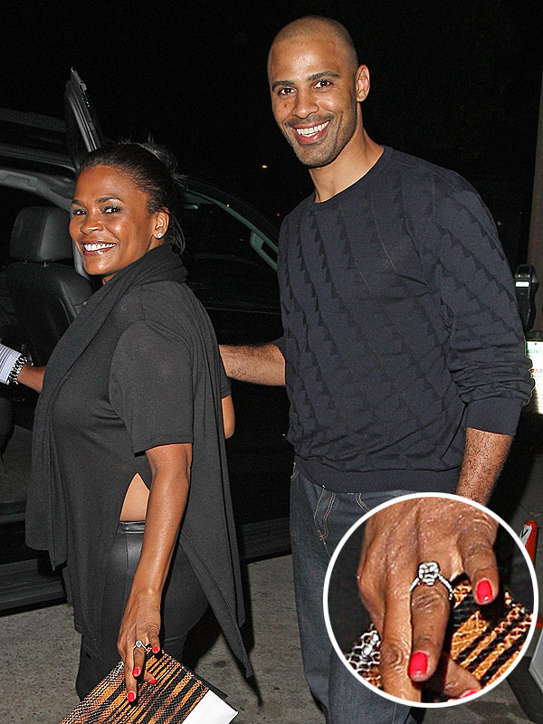 Nia Long engagement ring