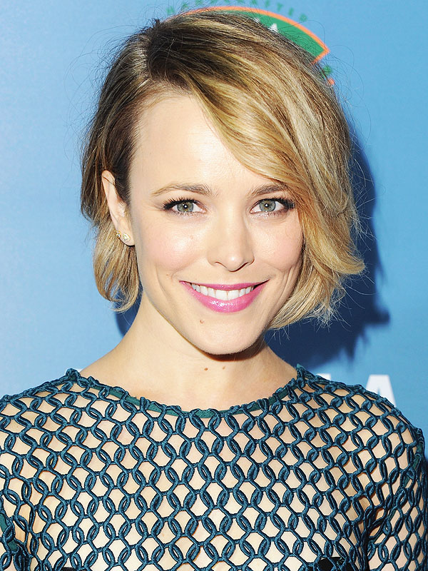 Get the Look: Rachel McAdams's Pretty Pink Lip at Aloha ... Rachel Mcadams Split