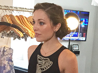 Inside Broadway Star Laura Osnes' Tony Awards Dress Fitting