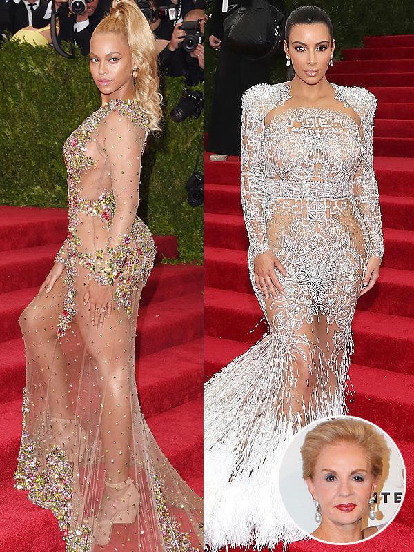 Carolina Herrera on Beyonce and Kim's Met Gala Gowns