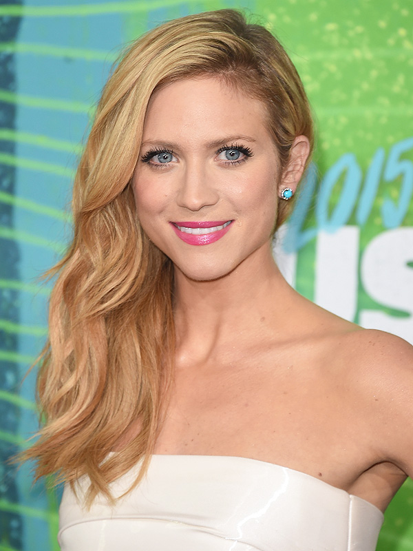 NASHVILLE, TN - JUNE 10: Brittany Snow attends the CMT Awards 2015