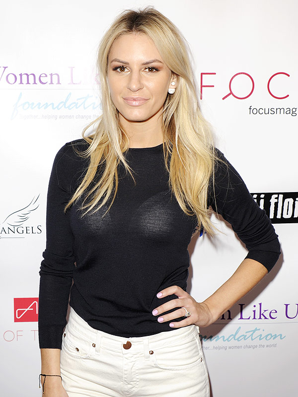 Morgan Stewart Engagement ring