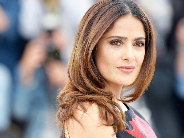 Salma Hayek Cannes Beauty