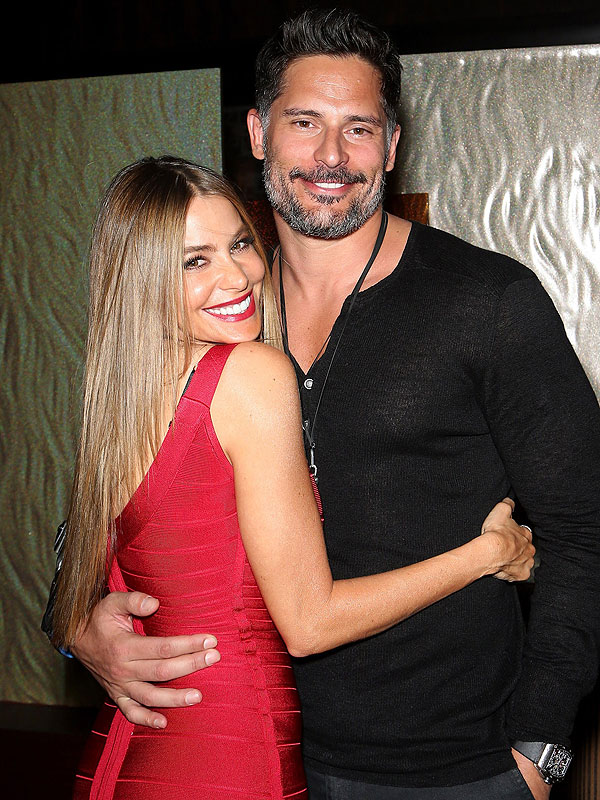 Sofia Vergara and Joe Manganiello gym